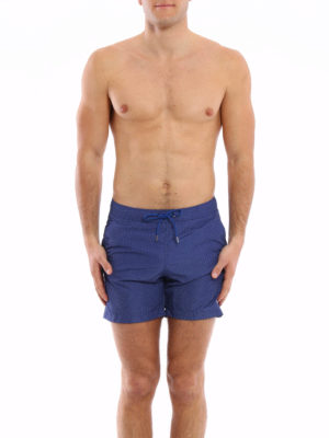 Fay: Swim shorts & swimming trunks online - Micro patterned swim shorts