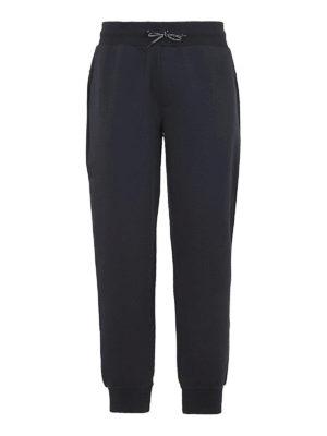 FAY: pantaloni sport - Pantaloni della tuta in cotone blu