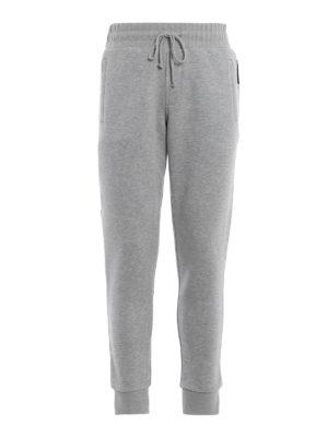 FAY: pantaloni sport - Pantaloni da tuta in misto cotone mélange