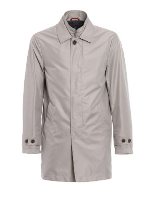Fay: trench coats - Double-front trench coat
