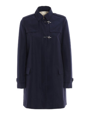 Fay: trench coats - High-tech fabric trench