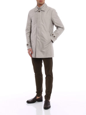 Fay: trench coats online - Double-front trench coat