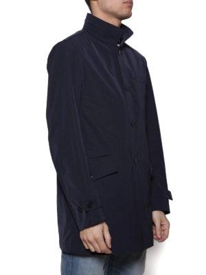 Fay: trench coats online - Techno fabric short trench coat