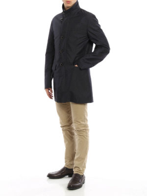 Fay: trench coats online - Water resistant short coat