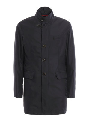 Fay: trench coats - Water resistant short coat