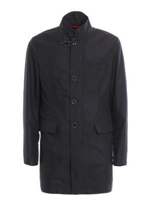 Fay: trench coats - Water resistant short coat