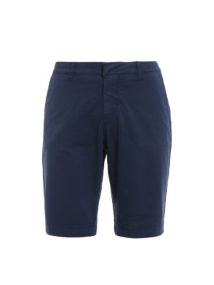 Fay: Trousers Shorts - Stretch cotton bermuda shorts