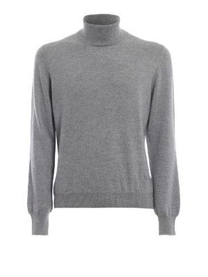 FAY: maglia a collo alto e polo - Dolcevita classico in lana pettinata