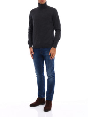 Fay: Turtlenecks & Polo necks online - Pure wool turtleneck sweater