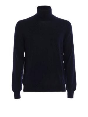 FAY: maglia a collo alto e polo - Pull a collo alto in pura lana