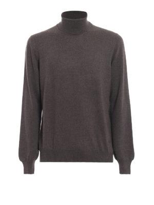 FAY: maglia a collo alto e polo - Maglia a collo alto in lana vergine