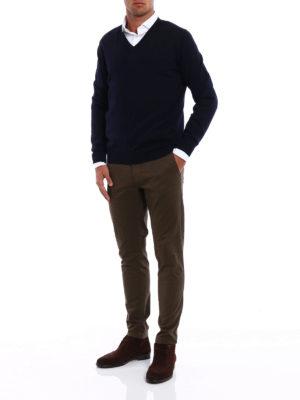 Fay: v necks online - Lightweight wool V-neck sweater