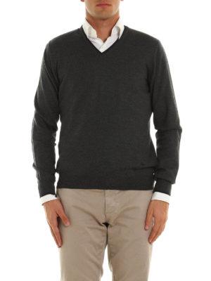 Fay: v necks online - Virgin wool sweater