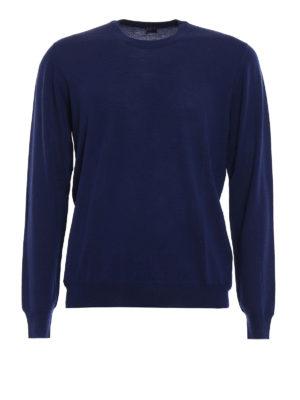 Fedeli: crew necks - Combed wool sweater