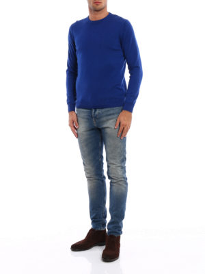 Fedeli: crew necks online - Soft and warm wool crewneck