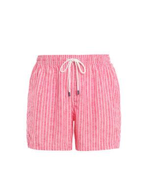 f2bcd5fdc8 FEDELI: Costumi piscina e boxer - Boxer da mare a righe bianche e rosse.  Fedeli. Red and white striped swim shorts