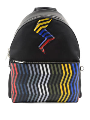 Fendi: backpacks - Lightning backpack