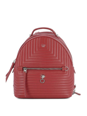 Fendi: backpacks - Quilted leather mini backpack