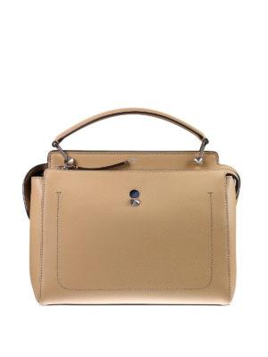 Fendi: bowling bags - Dotcom leather bag