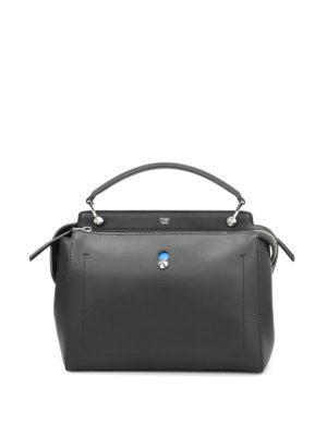 Fendi: bowling bags - Dotcom pouch detail bag