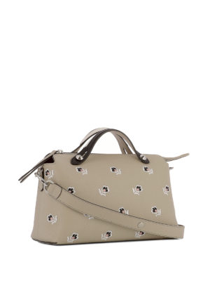 Fendi: bowling bags online - By The Way embroidered bowling bag
