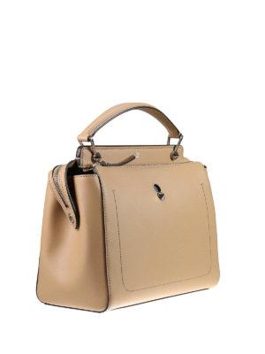 Fendi: bowling bags online - Dotcom leather bag