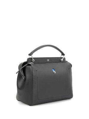 Fendi: bowling bags online - Dotcom pouch detail bag