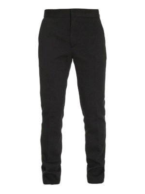 Fendi: casual trousers - Fantastic cotton jersey trousers