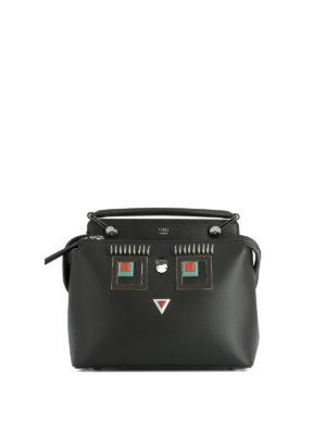 Fendi: cross body bags - Dot Com Click Faces hand bag