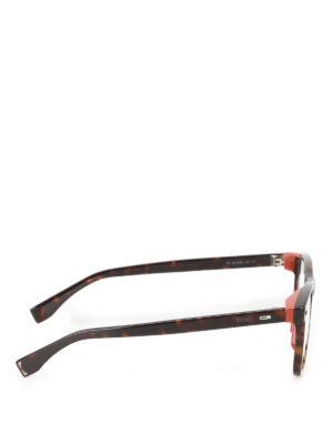 Fendi: glasses online - Contrasting details optical glasses