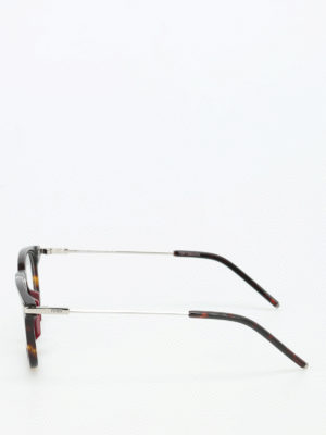 Fendi: glasses online - Metal arms detailed glasses