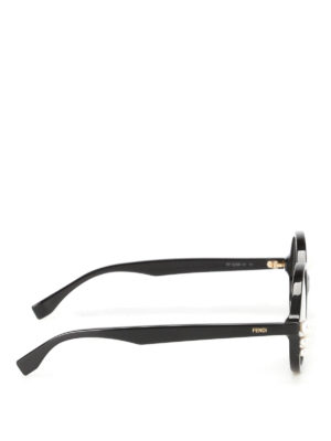 Fendi: glasses online - Pearls detailed optical glasses