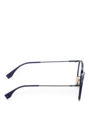 Fendi: glasses online - Slender frame eyeglasses