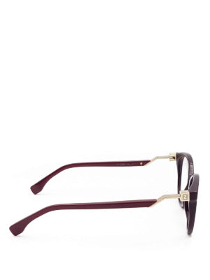 Fendi: glasses online - Thick acetate optical glasses