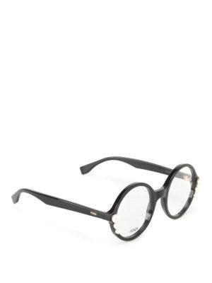 Fendi: glasses - Pearls detailed optical glasses
