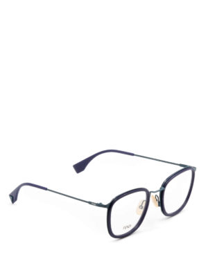 Fendi: glasses - Slender frame eyeglasses