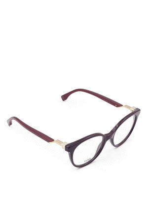 Fendi: glasses - Thick acetate optical glasses