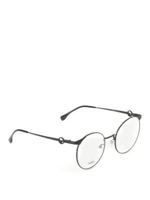 Fendi: glasses - Ultralight black optical glasses