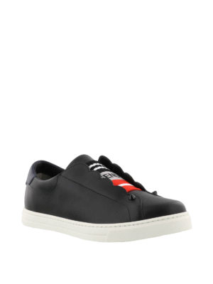 Fendi: Loafers & Slippers online - Slippers with logo insert