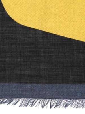 Fendi: scarves online - Bag Bugs wool and silk scarf