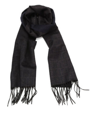 Fendi: scarves - Silk and cashmere scarf
