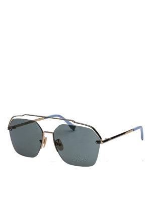 77f4812e80319 Serigraphy gold metal mask sunglasses. £ 277.00. FENDI  occhiali da sole -  Occhiali da sole in titanio dorato