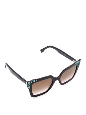 Fendi: sunglasses - Can Eye squared sunglasses