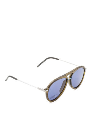 Fendi: sunglasses - Fantastic green sunglasses