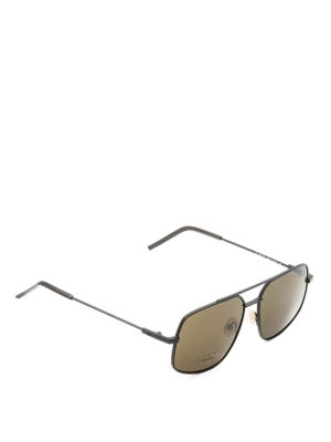 Fendi: sunglasses - Fendi Air slim metal sunglasses