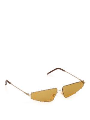 f329221383a335 FENDI  occhiali da sole - Occhiali da sole geometrici in titanio
