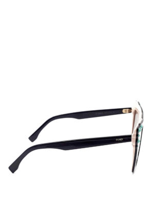 Fendi: sunglasses online - Can Eye squared sunglasses