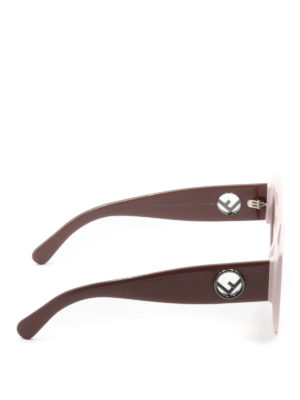 Fendi: sunglasses online - F is Fendi cat-eye sunglasses