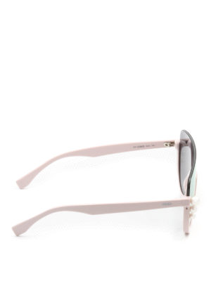 Fendi: sunglasses online - Ribbons and Pearls pink sunglasses