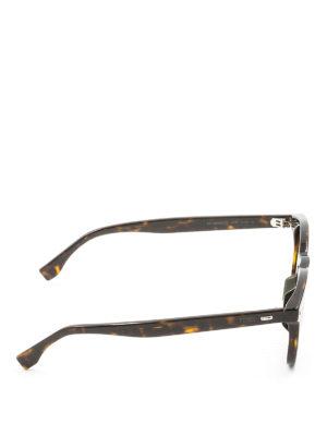 Fendi: sunglasses online - Tortoiseshell sunglasses